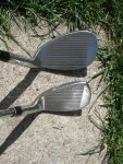 Wilson Sand wedge head compared to pitching wedge