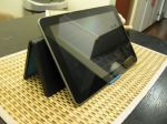 Logitech Tablet keyboard stand relaxed viewing